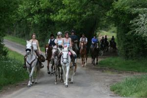 équitation saintes balade